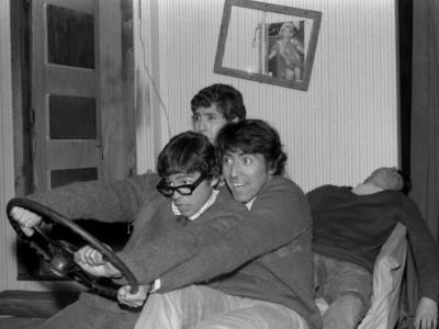 """Ensayo de obra """"El pequeño Malcolm y su lucha contra las eunucos"""". 1967."""