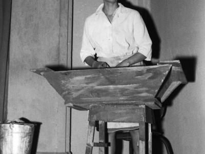 """Maité Fernández, actriz de la obra """"Pan caliente"""". 1967."""