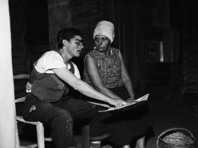 "Obra ""Pan Caliente"" del Teatro Teknos. 1967."