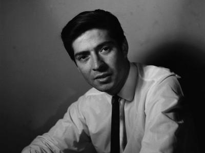 Igor Cantillana, actor del Teatro Teknos. 1967.
