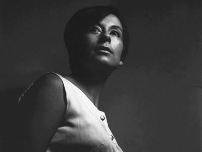 Norma Vidal, actriz del Teatro Teknos. 1967.