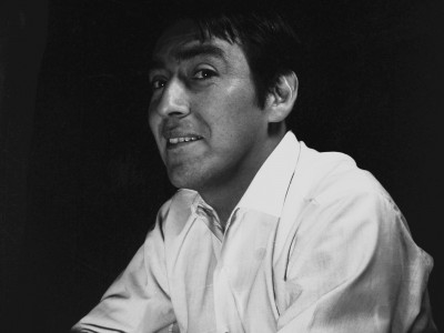 Juan Quezada, actor del Teatro Teknos. 1967.