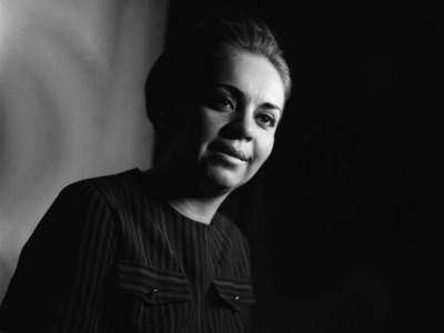 Gladys del Río, actriz del Teatro Teknos. 1967.