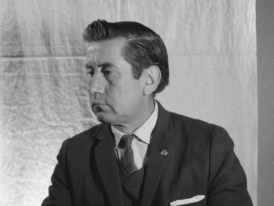 Víctor Mix, actor del Teatro Teknos. 1967.