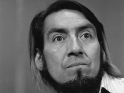Juan Quezada, actor del Teatro Teknos. 1975.