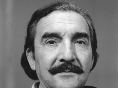Mario Montilles, actor del Teatro Teknos. 1975.