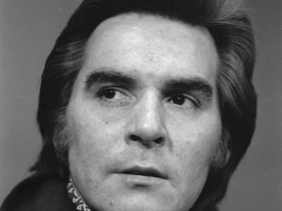 Osvaldo Lagos, actor del Teatro Teknos. 1975.