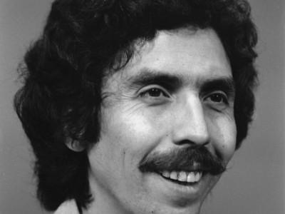 Adriano Castillo, actor del Teatro Teknos. 1975.