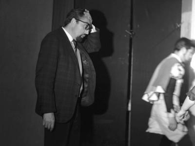 Raúl Rivera, director del Teatro Teknos  entre 1962 y 1975. Sin fecha.