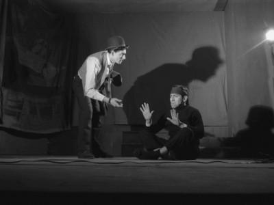 "Obra ""Escape libre"" del Teatro Teknos. Sin fecha."