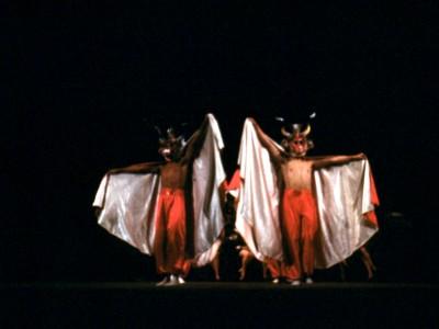 Presentación del BAFUTE en el norte de Chile. 1970. (Donación de Enrique Carvajal)