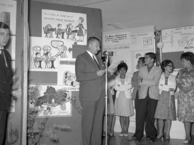Inauguración Exposición Material Didáctico del Instituto Pedagógico Técnico UTE