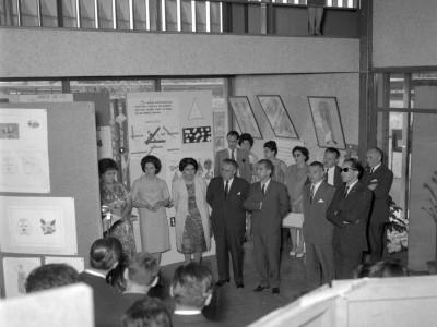 Inauguración Exposición Material Didáctico Instituto Pedagógico Técnico UTE