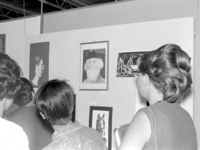 Inauguración Exposición Publicidad UTE, 1967.