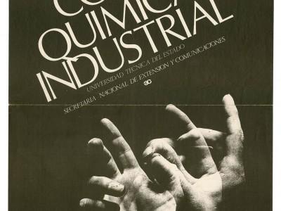 Afiche Coro Química Industrial, Taller Gráfico UTE.