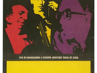 Afiche Camerata, Taller Gráfico UTE.