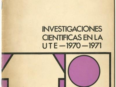 Portada Cuadernos de la Reforma n° 9, Taller Gráfico UTE,.