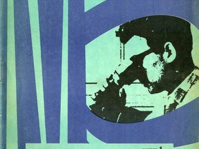 Portada Revista Contribuciones n° 1, Taller Gráfico UTE.