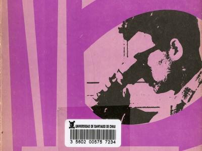 Portada Revista Contribuciones n° 7, Taller Gráfico UTE.
