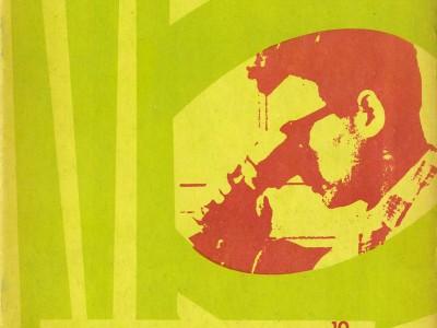 Portada Revista Contribuciones n° 10, Taller Gráfico UTE.