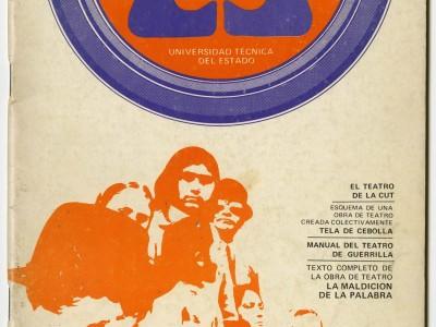 Portada revista Talleres de la Cultura, Taller Gráfico, 1972.
