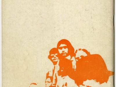 Contraportada revista Talleres de la Cultura, Taller Gráfico, 1972.