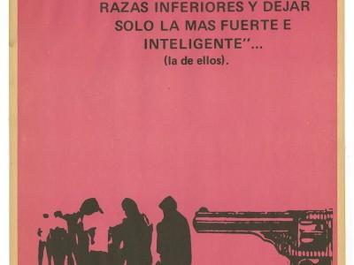 Exposición Por la vida… Siempre!, Taller Gráfico UTE, 1973.