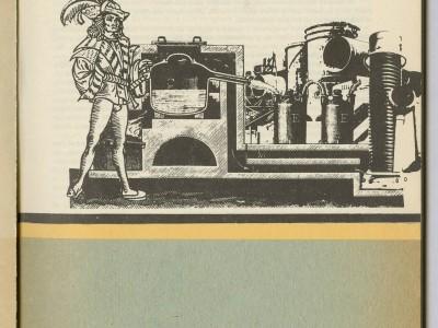 Portadilla Revista de la Universidad Técnica del Estado, Taller Gráfico UTE.