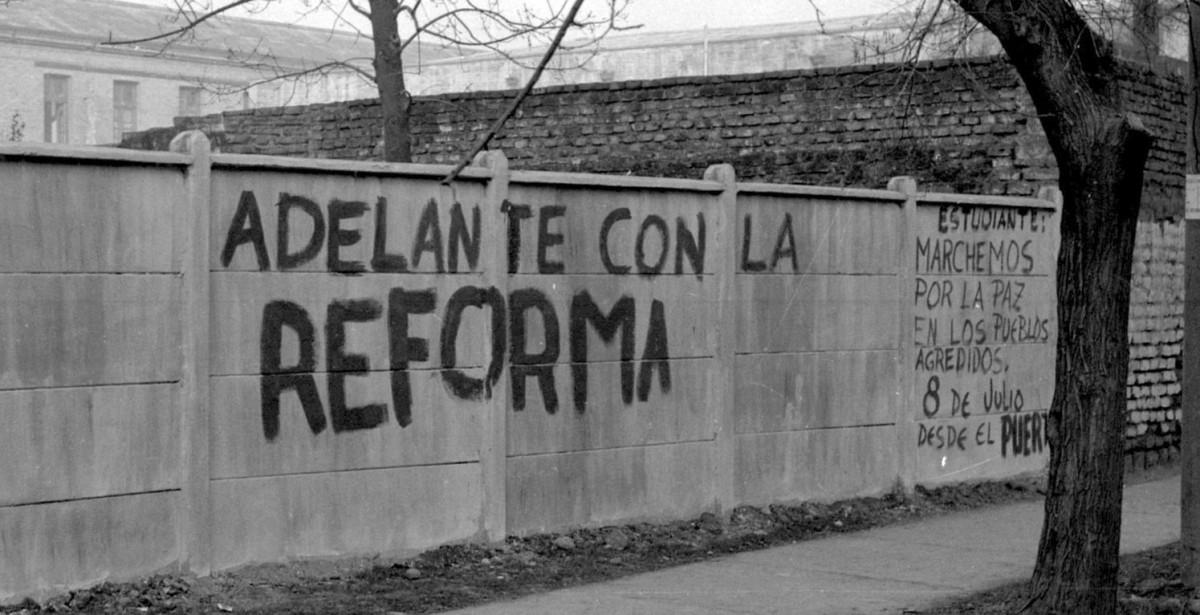 Rayado por la Reforma Universitaria