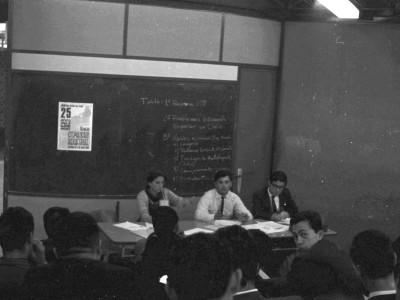 Asamblea de estudiantes 1966