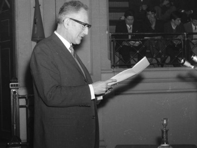 Enrique Kirberg Rector 1968