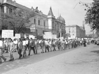 Marcha por el presupuesto 1968