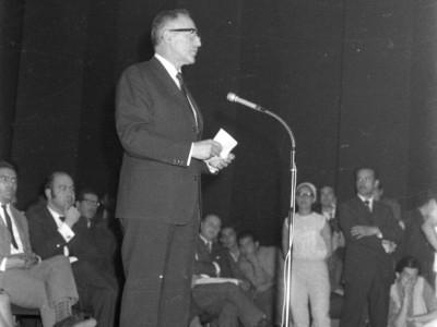 Manifestación de la APEUT y FEUT 1968