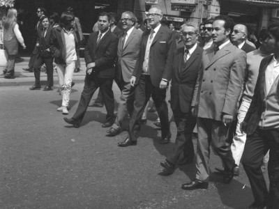 Manifestación estudiantil 1968