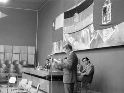 La República Democrática de Alemania visita la UTE