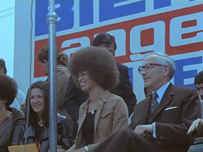 Angela Davis y Enrique Kirberg 1972