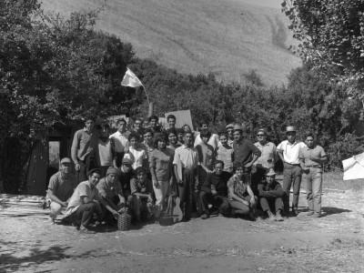 Trabajos Voluntarios de la FEUT en la Provincia de Malleco, 1966