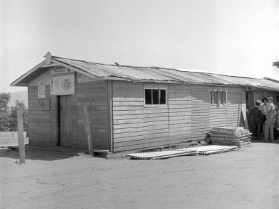 Escuela construida por estudiantes de la UTE en los Trabajos Voluntarios de 1966