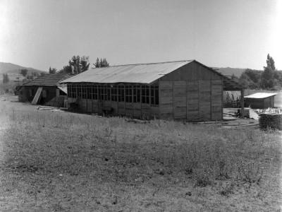Escuela construida por los estudiantes en los Trabajos Voluntarios de 1966, organizados por la FEUT