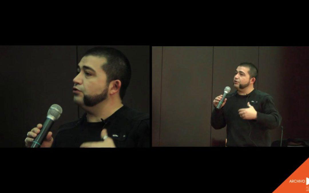 Archivos, collage y surrealismo. Una charla de Miguel Ángel Vidaurre (2013)