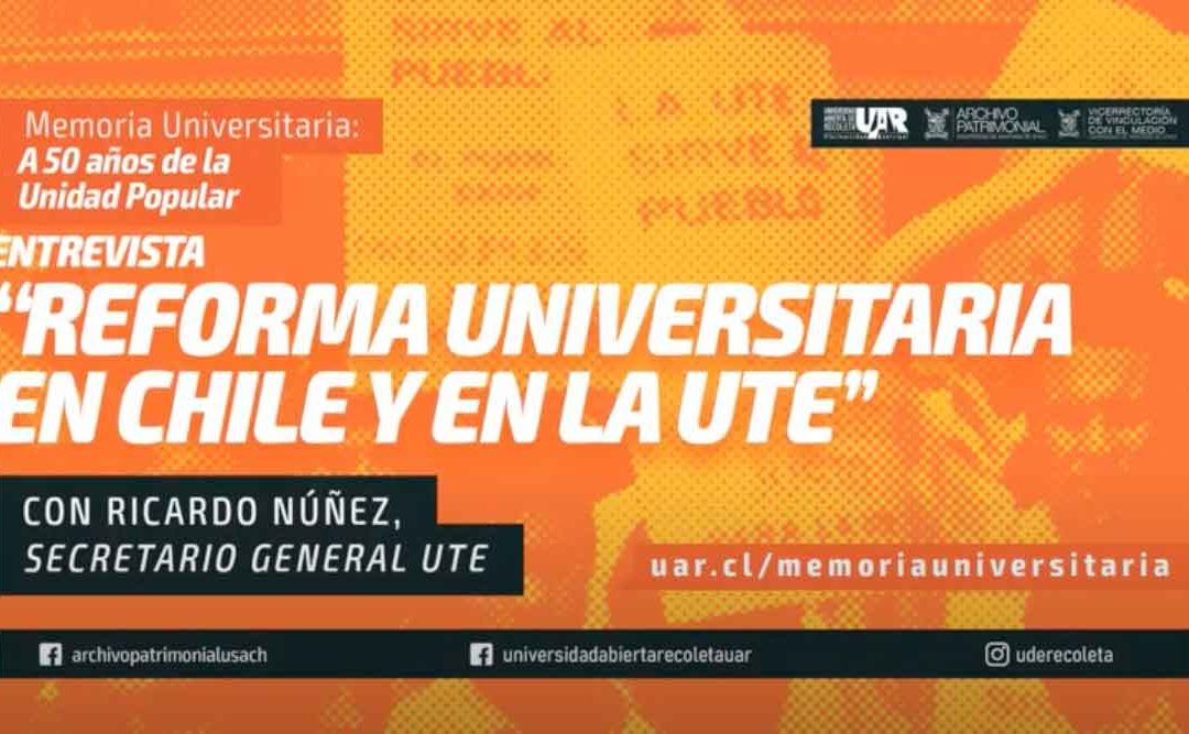 Entrevista a Ricardo Núñez, ex secretario general UTE